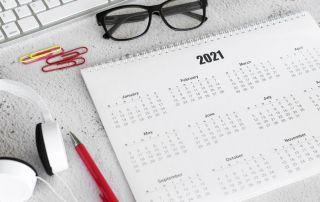 actividades descripcion calendario 2020 2021