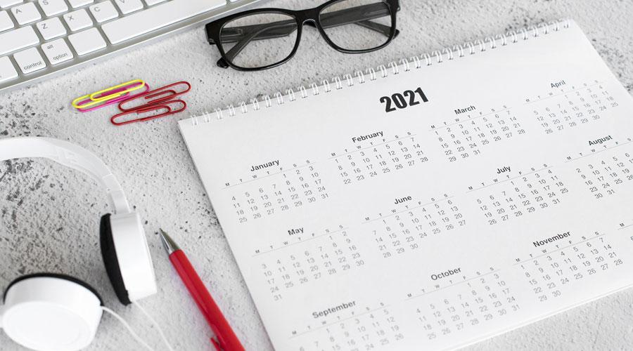 Calendario del curso ESO y 1º de Bachillerato 2020/2021